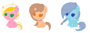 Plushie Pony Adopts {OPEN} by SNlCKERS