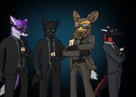 Cards and sunglasses ~ Comission for Ratce8386 by RIOPerla