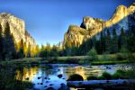 Yosemite Valley View by kayaksailor