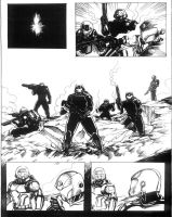 Solstice Page Inked by Alan-Gallo