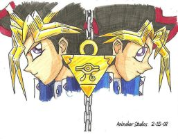 Yami and Yugi by Animaker131