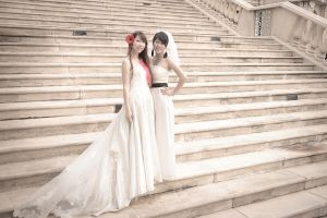 Bestie Brides I by mikuen-drops
