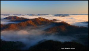 Rising Mist by TRBPhotographyLLC