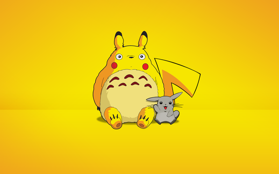 Totorotchu and Pikaro by byWizards