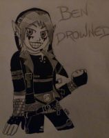 BEN DROWNED by SunShineMoonLight