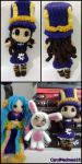Caitlyn Amigurumi from League of Legends by ForgottenMermaid