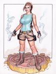 Lara Croft -Tomb Raider by Reverie-drawingly