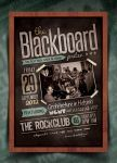 Blackboard Flyer/Poster Template by IndieGround
