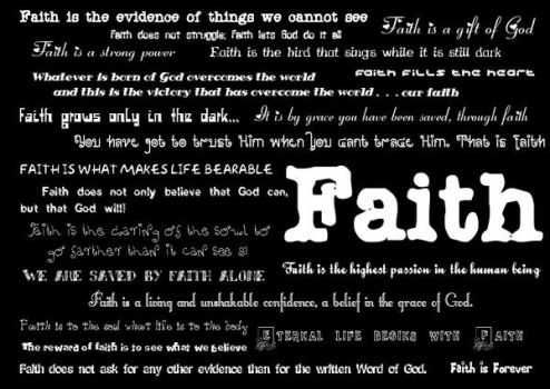 'Faith' by AthenA-gRace by christians