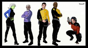 Final Frontier chars 2 by Damon1984