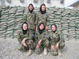 Women of the Afghanistan National Army by msnsam