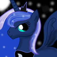 First Princess Luna by TheRainbowubz