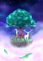 the last tree on earth by DarkHajime