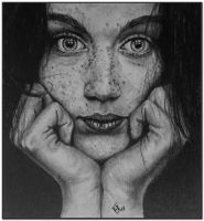... Freckled girl ... by Tobara