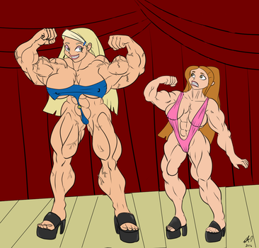 Sharon had one hell of a growth spurt by Eko1986