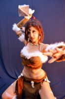 Nidalee attacks ! by dashcosplay