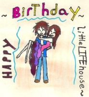 Happy Birthday LittleLIFEhouse by XDemonitaX