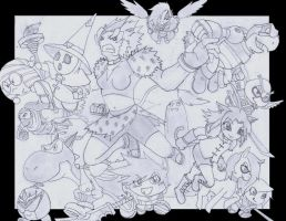 OC's ATTACK on FUMON!!! by arsetothem