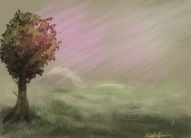 I just wanted to draw a tree by missmady