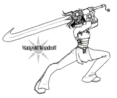 Exalted - Marigold Woodruff by bucketmouse
