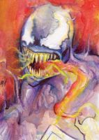 Venom sketch card by Ethrendil