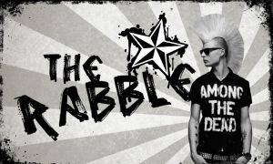 The Rabble Wallpaper by Blinded-by-Bats