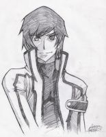 Code Geass - Lelouch 00 Sketch by acexl1000