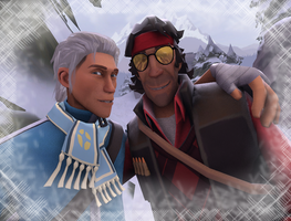 Toby and Charlie *TF2 SFM* by Tsuzumikin