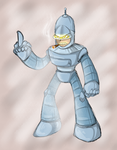 Bender (megaman style) by thegreatrouge