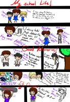 My school life: U r not alone by purplelove55