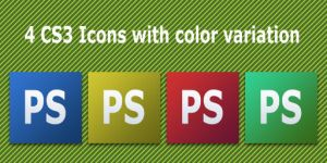 4 CS3 Icons by CreativePixel
