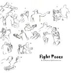 Fight pose practice (self- reference) by MadilynBoyd