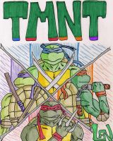 TMNT by lenboogie