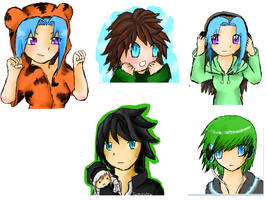 Iscribble dump 4 by twigglesbear