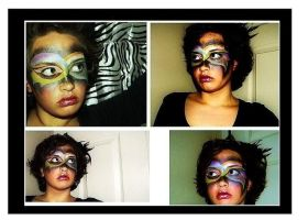 Halloween Makeup collage by CrazyPicChick