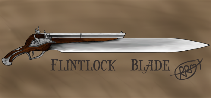 Flintlock-Blade by kiyuzo