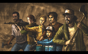 The walking dead : season two by concubot