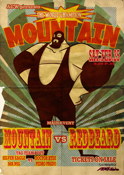 ACW Old Poster by roemesquita