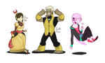 Characters- Part 1 by XombieJunky