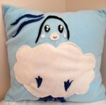 Altaria Pillow by RaspberryFanta