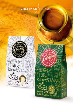 Turkish Coffee Packaging by byZED