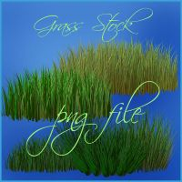 Grass 3d png file by moonchild-ljilja