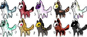 CLOSED - Maskees Adoptables 340 by LeaAdoptables