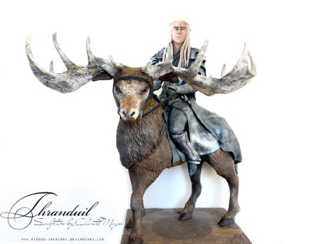 Thranduil Sculpture- lord of the rings by Blackthorn-Studios