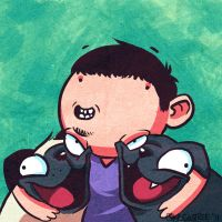 Ichi, Yama and Me by Cgoose