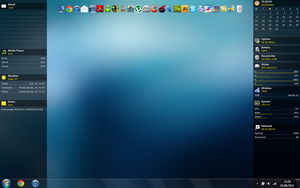 Current Desktop with Vienna 6 by cestnms