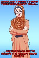 No Compulsion in Hijab 02 by Nayzak