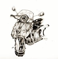 Moped Inks by HJeojeo