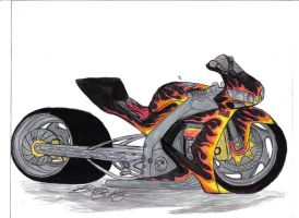 Yamaha R1 Firefighter by Mister-Lou