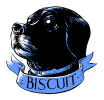 Biscuit the Dog by devilevn